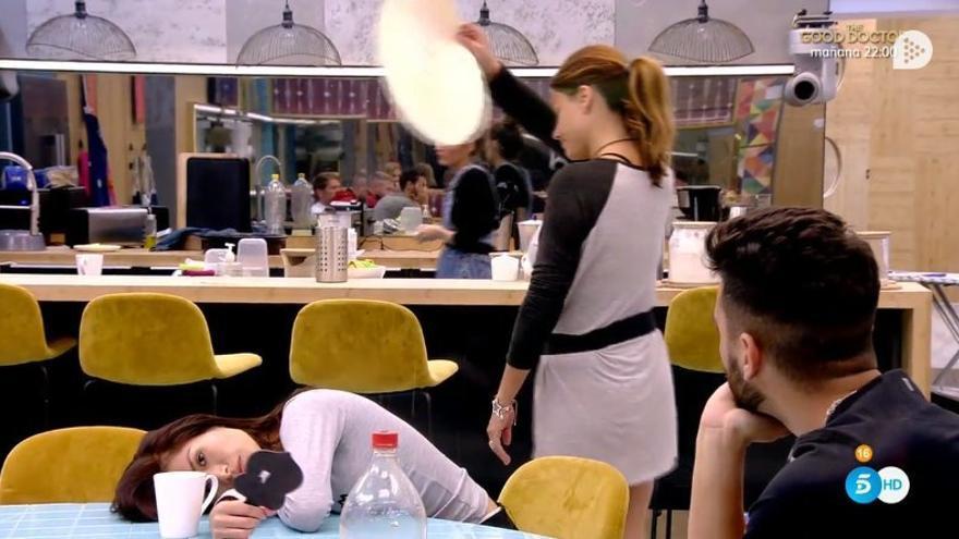 GH VIP muestra imágenes que prueban que Mónica hoyos no escupió la comida de Miriam