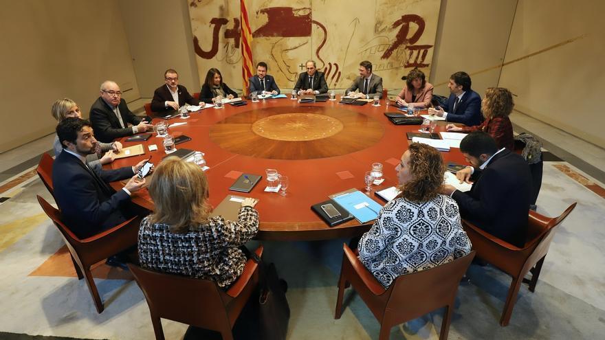 Los catalanes vuelven a suspender al Govern con un 4,65 de media, según el CEO