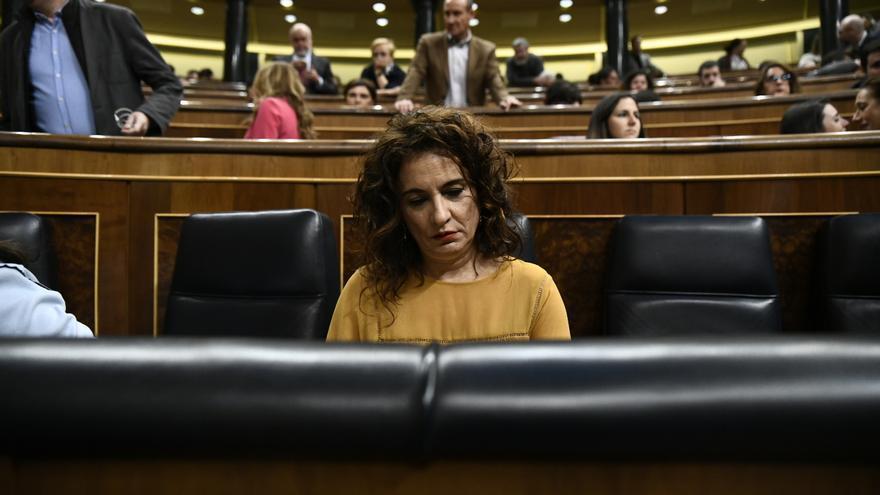 """Montero: """"Me duele como progresista que se vote en contra de unos Presupuestos con mayor justicia"""""""