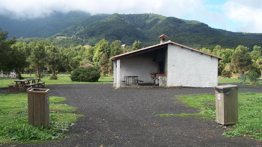 En la imagen, área recreativa de La Laguna de Barlovento.