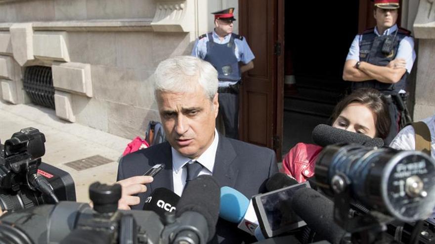 El TSJC rechaza la petición de la Fiscalía de prohibir a Gordó salir de España