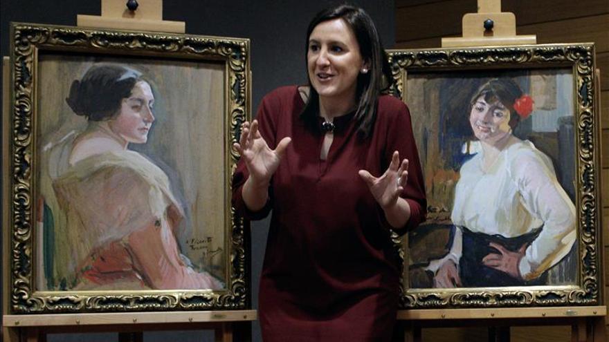 El Museo San Pío V expone dos retratos que Sorolla regaló a la familia Traver