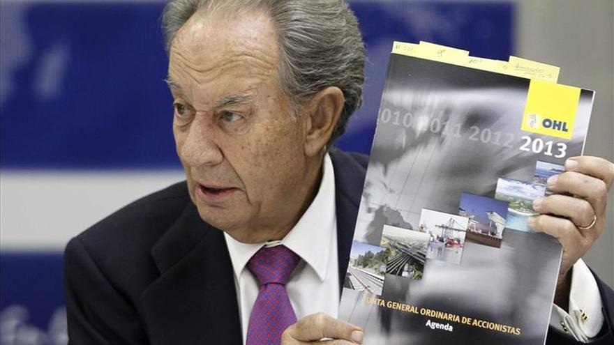 Villar Mir niega que OHL haya dado dinero al PP, como afirma Bárcenas
