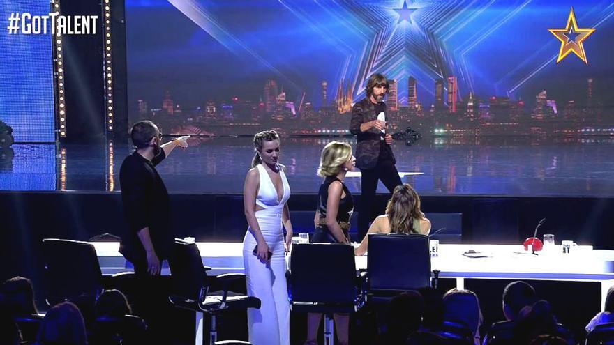 El jurado de 'Got Talent' se rebela y hace huelga para reclamar un nuevo pase de oro