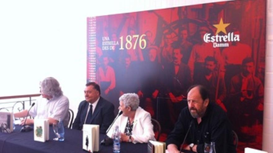 Presentación de los ganadores del Premio Internacional Terenci Moix 2012