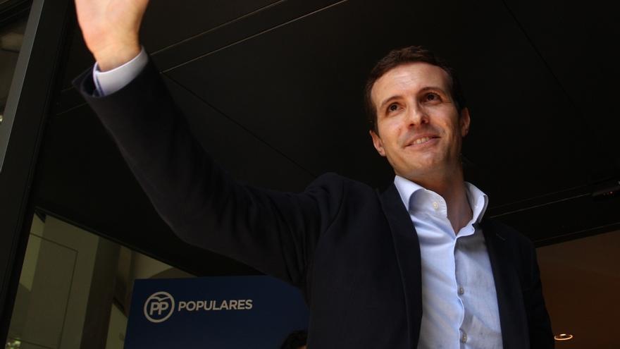"""Casado dice """"ojalá"""" pudiera contar con Feijoo si llega a presidir el PP: """"Es un referente para todos"""""""