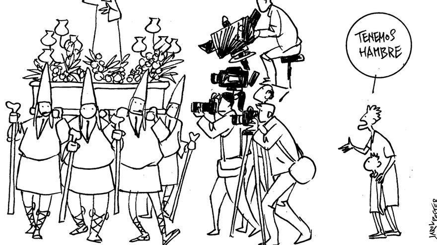 VIÑETA | La Semana Santa está en el foco mediático