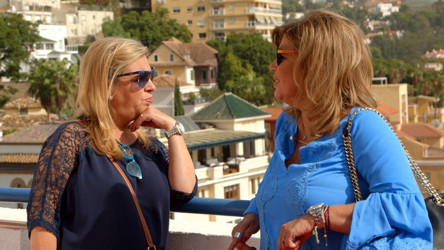Ya lo hemos visto: Mª Teresa y Terelu, en su entrega más emotiva