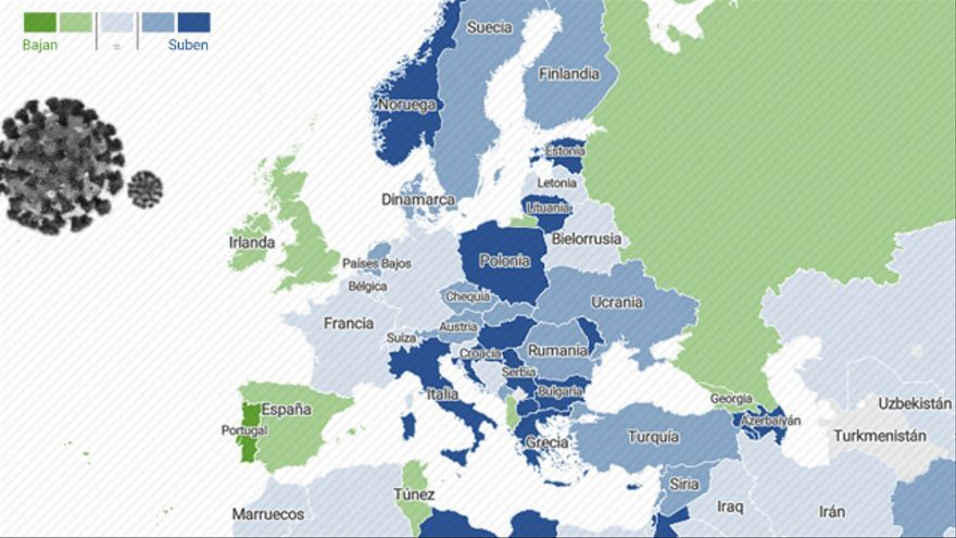 Los casos en Europa vuelven a aumentar entre la incertidumbre por la expansión de las variantes