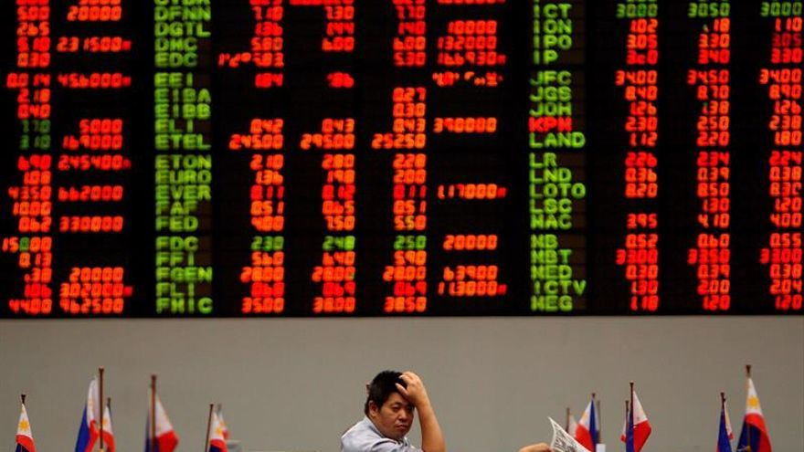 Las mayoría de bolsas del Sudeste Asiático abre con pérdidas