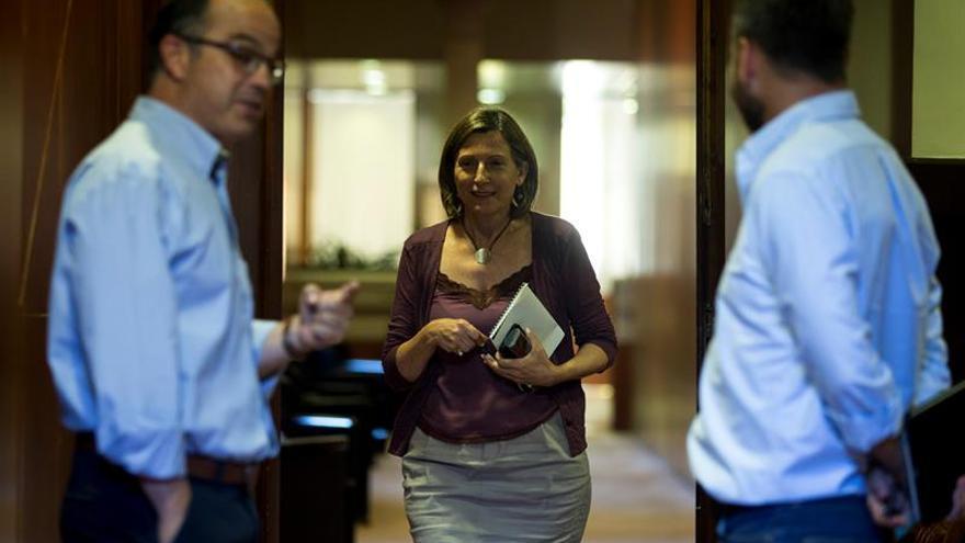 """Forcadell defiende libertad de debate en el Parlament """"sin censuras"""" del Estado"""