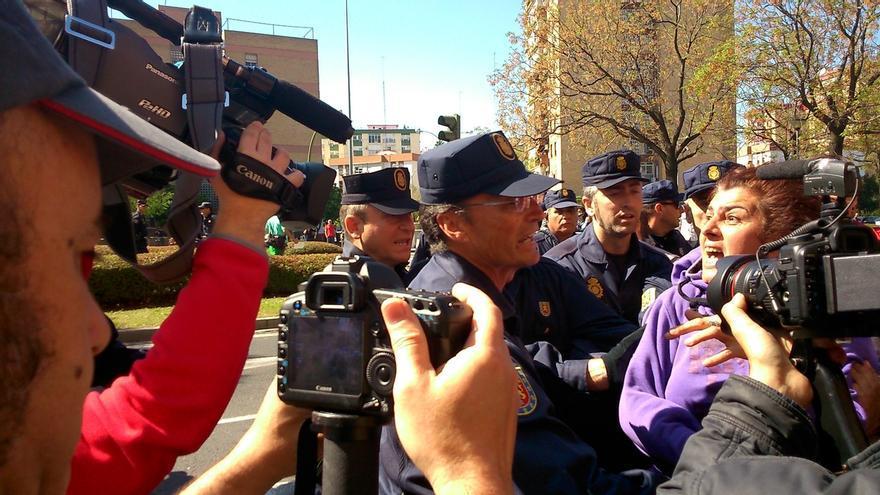 Juicio este jueves contra un detenido tras el desalojo de la Corrala Utopía