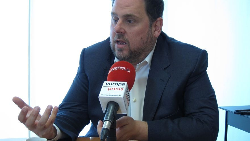 "Junqueras ve ""razonable"" que el Govern concrete en dos meses cómo culminar la independencia"
