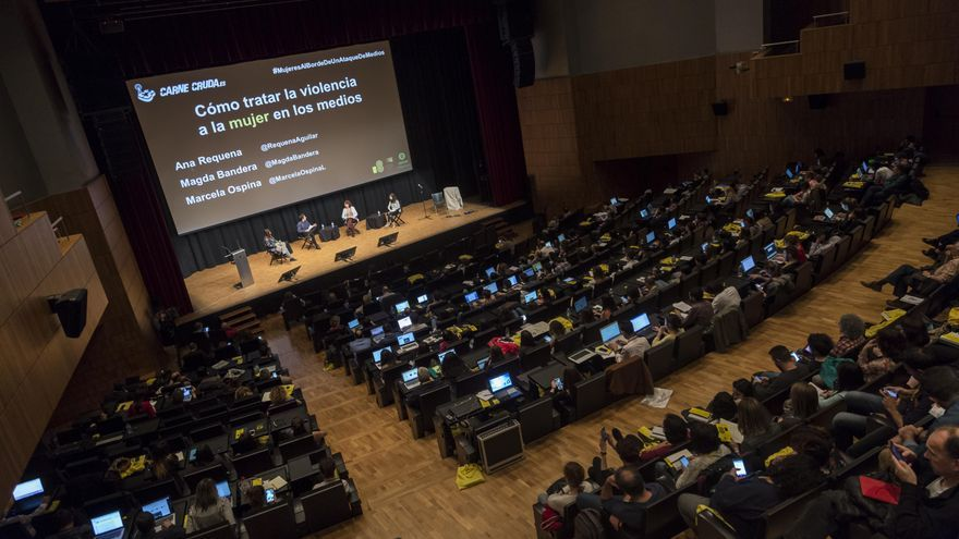 Carne Cruda en el Congreso de Periodismo Digital de Huesca
