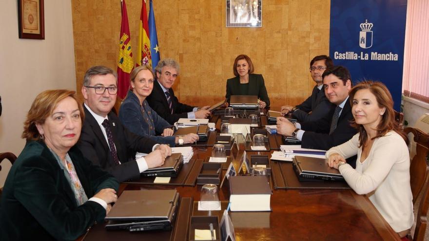 Consejo de Gobierno de la etapa de María Dolores de Cospedal