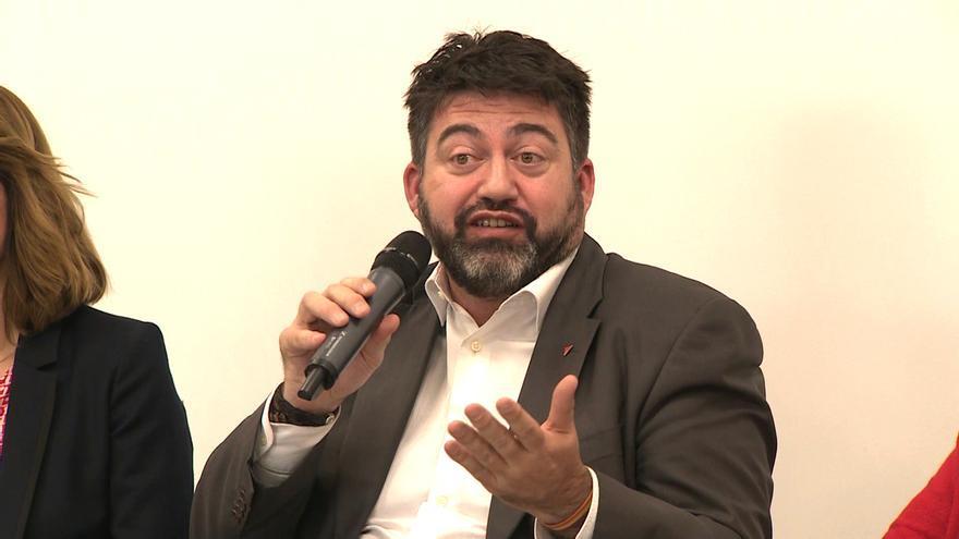 Carlos Sánchez Mato, candidato de IU a la Alcaldía de Madrid