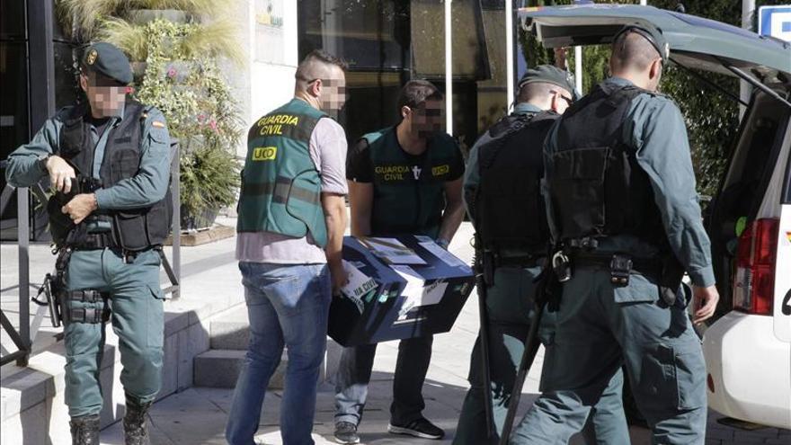 La Guardia Civil incauta 240.000 euros en efectivo en la operación Púnica