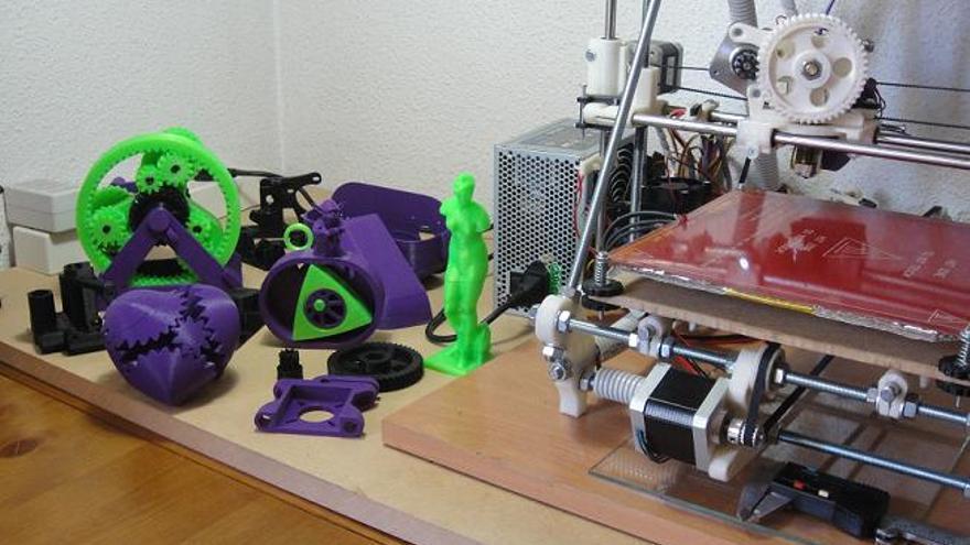 Piezas impresora 3D Prusa Mendel iteración 2