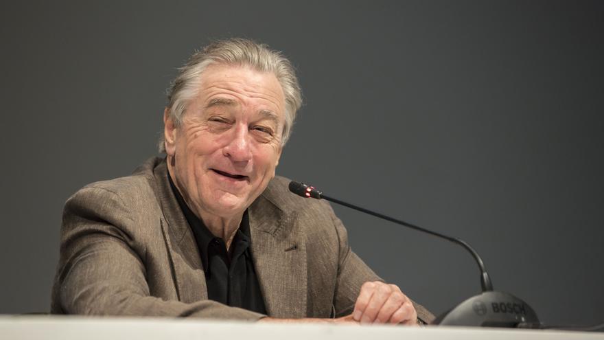 El actor Robert de Niro, durante su rueda de prensa en el Festival Internacional de Cine de Marrakech
