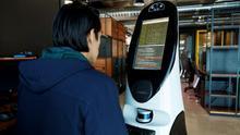 Un robot mexicano en la batalla contra el coronavirus