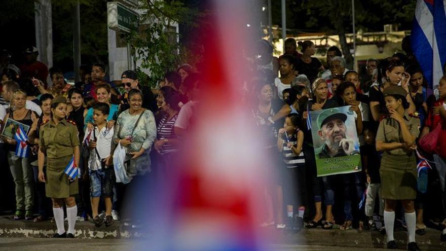 Los restos mortales de Fidel Castro llegan a la provincia de Santiago de Cuba