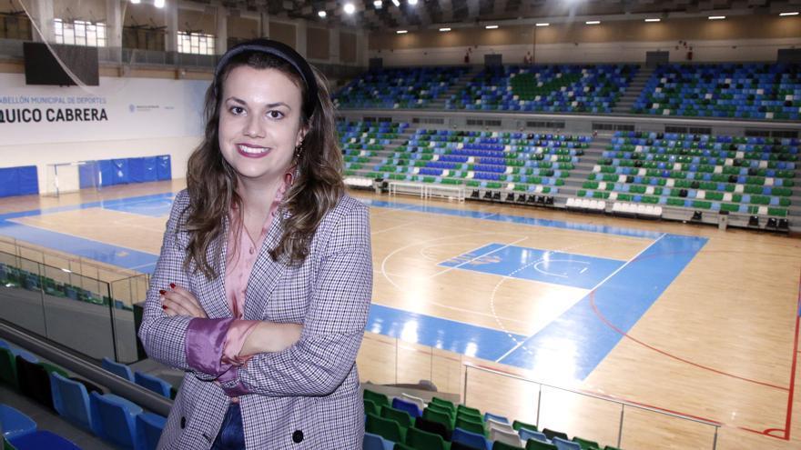 Elena Mateo, concejala de Deportes del Ayuntamiento de Santa Cruz de Tenerife.