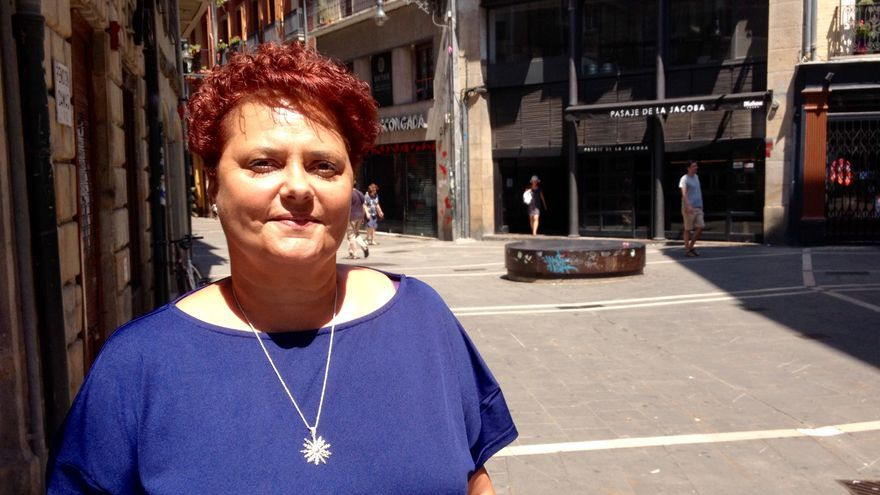 La técnica de Igualdad del Ayuntamiento de Pamplona, Pilar Mayo.