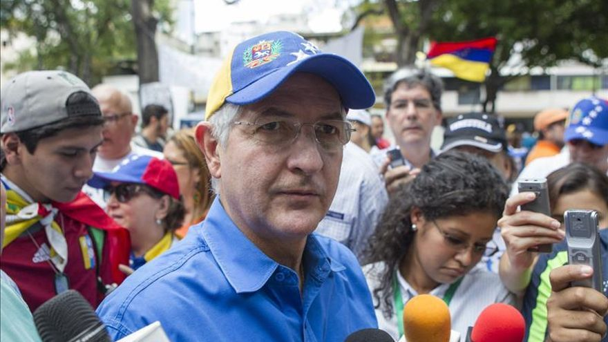 La Fiscalía venezolana imputará a Ledezma por un supuesto vínculo con una conspiración