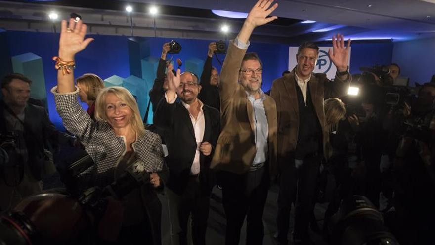 """Rajoy subraya en Cataluña que aplicó el 155 tras agotar """"todas las vías"""""""