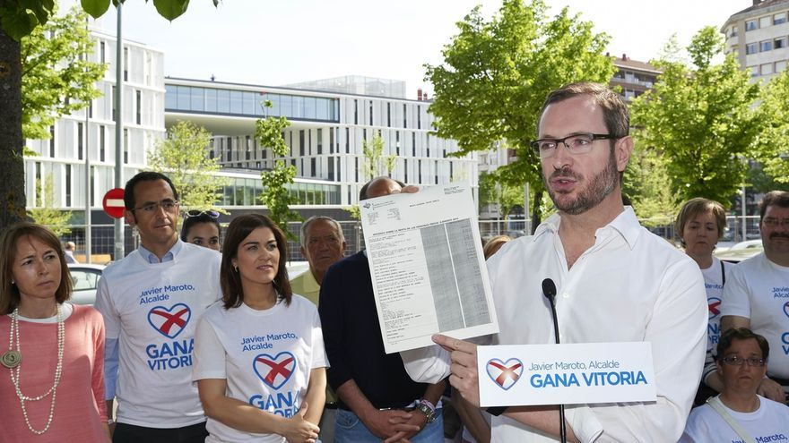 Maroto (PP) hace pública su declaración de la renta y exige al resto de partidos que hagan lo mismo