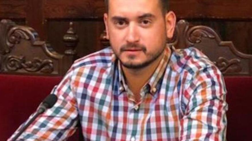 Robert Nazco, portavoz del grupo Socialista en el Ayuntamiento de Los Llanos de Aridane.