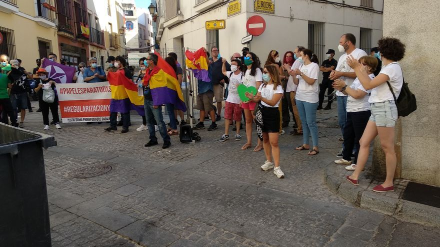 Badajoz protesta