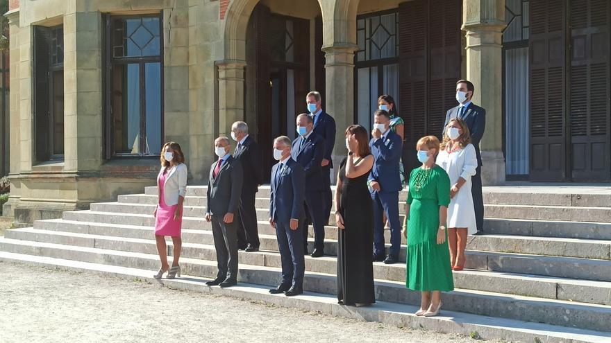 El Gobierno vasco, presidido por el Lehendakari, celebra su primer Consejo del curso político en el Palacio de Miramar