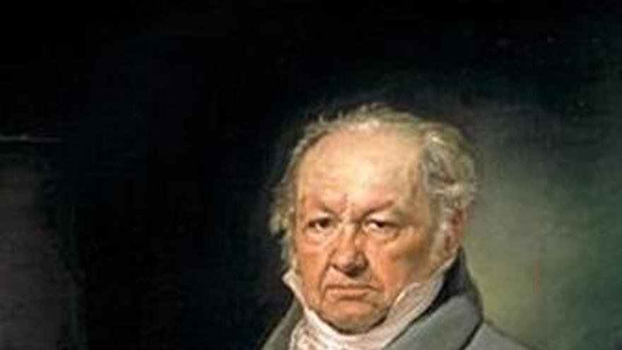 'El pintor Francisco de Goya' de Vicente López