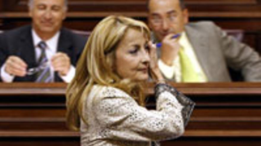 María Australia Navarro, presidenta del Grupo Parlamentario Popular.