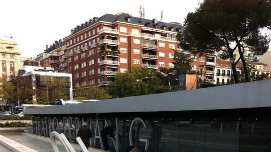 Retiran las letras del Teatro Fernán Gómez de Madrid / @UTMACSA