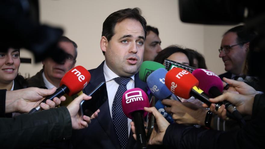 Paco Núñez, presidente del PP en Castilla-La Mancha, este lunes