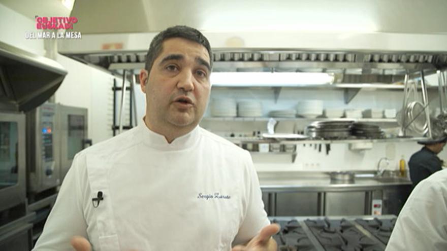 El chef Sergio Ortiz. Foto: EITB