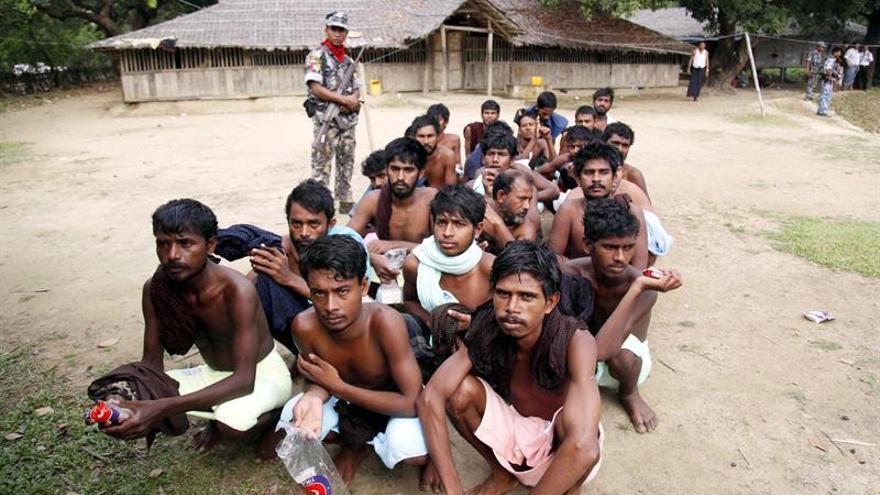 25 Muertos en una batida del Ejército en una zona conflictiva del oeste de Birmania