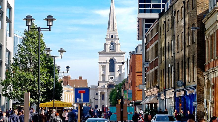 Aguja de la Spitalfields Christ Church, la joya barroca del East End. Art Comments