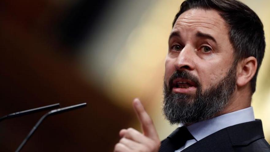 Abascal asegura que España saldrá fortalecida si Sánchez dimite