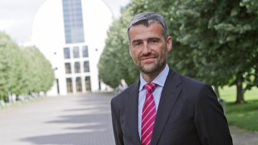 El vicerrector de Investigación de la UPNA, Alfonso Carlosena.