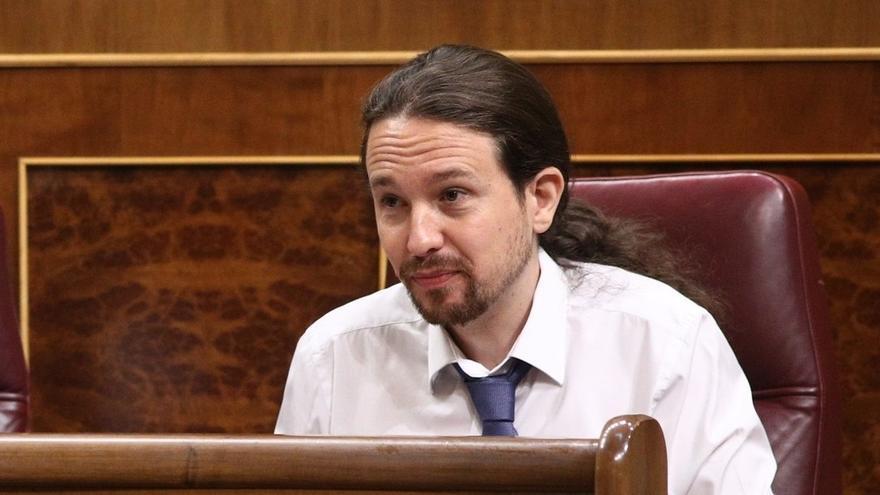 """Iglesias sobre carteles contra concejales de Lleida: """"Amenazar es que Maza diga que mandará a la cárcel a 700 alcaldes"""""""