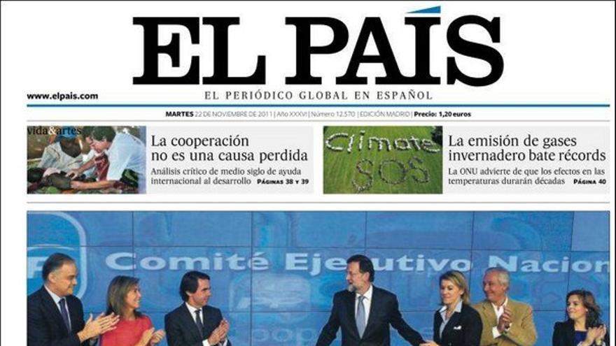 De las portadas del día (22/11/2011) #7