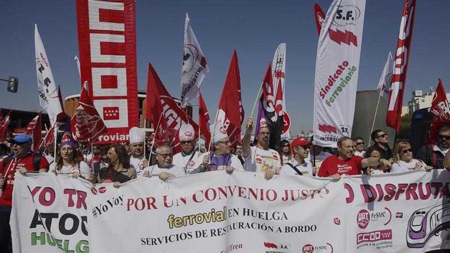 Los sindicatos a bordo de Renfe piden una subida para recuperar poder adquisitivo
