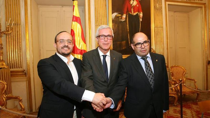 """PSC, PP y UDC califican el pacto de Tarragona firmado hoy de """"no ideológico"""""""