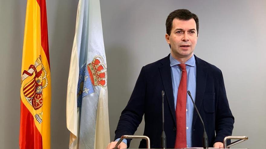 El secretario xeral del PSOE gallego, Gonzalo Caballero.