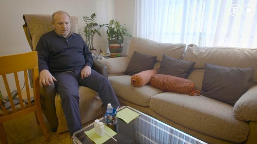 José Antonio Arrabal en una captura del vídeo que grabó el pasado día 2