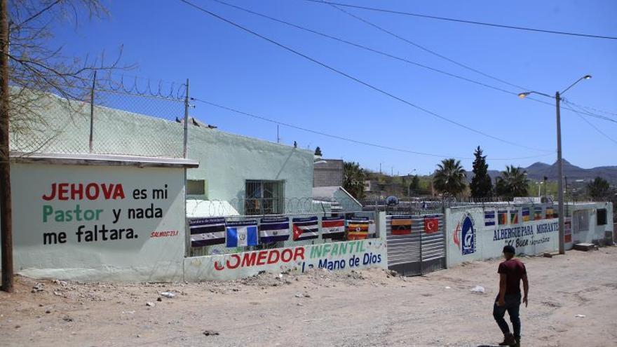 Fotografía de las instalaciones del albergue El Buen Samaritano, en Ciudad Juárez, en el estado de Chihuahua (México).
