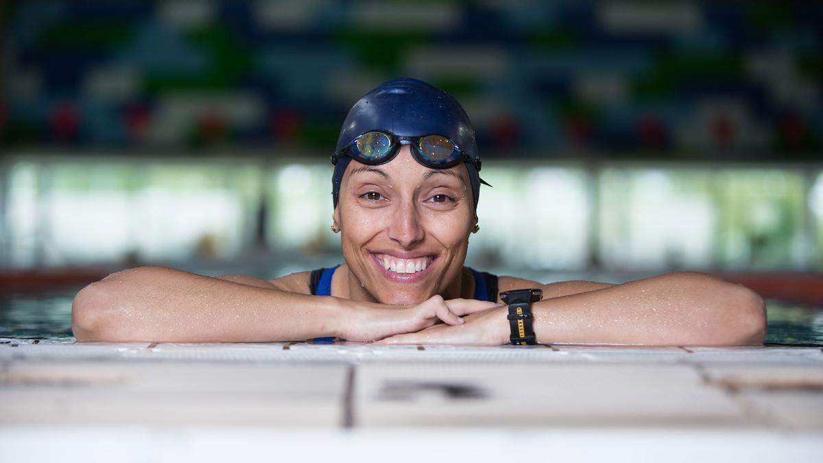 La nadadora paraolímpica Teresa Perales